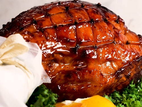 maple glazed ham recipe