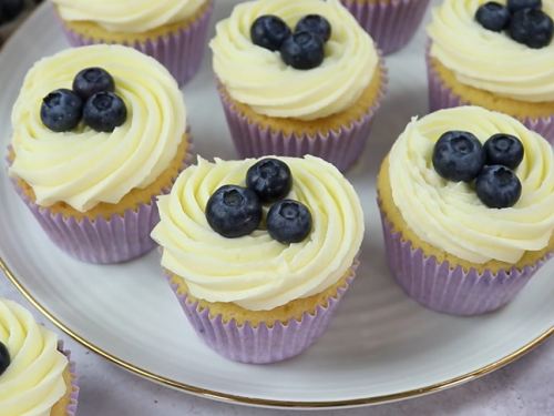 meyer lemon blueberry cupcakes recipe