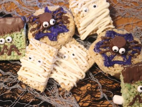 monster rice krispie treats recipe