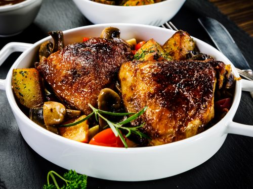 one pan cajun chicken and veggies recipe
