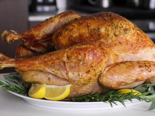 overnight turkey recipe