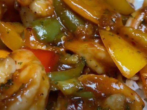 Ginger and Shrimp Stir Fry Recipe