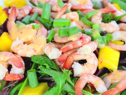 shrimp, jicama and mango salad recipe