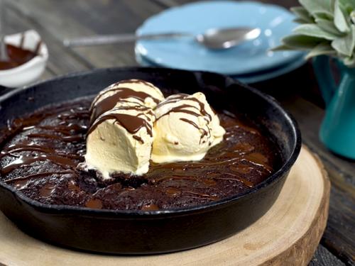 skillet brownie recipe