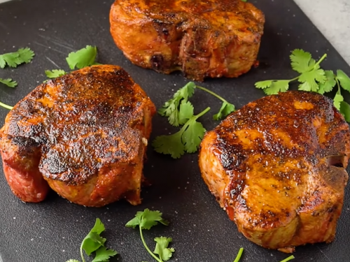 smoked pork chops recipe