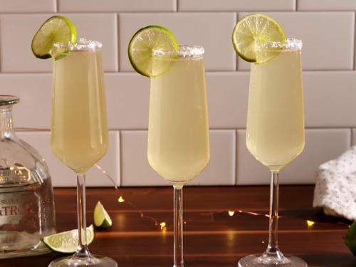 sparkling margaritas (champagne margaritas) recipe