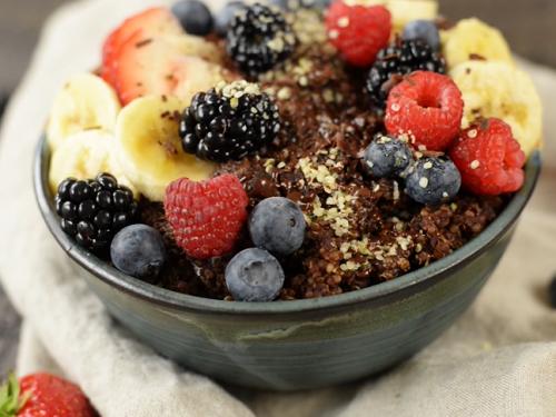 summer quinoa breakfast bowls recipe