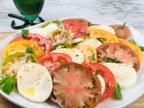 tomato salad with mozzarella recipe