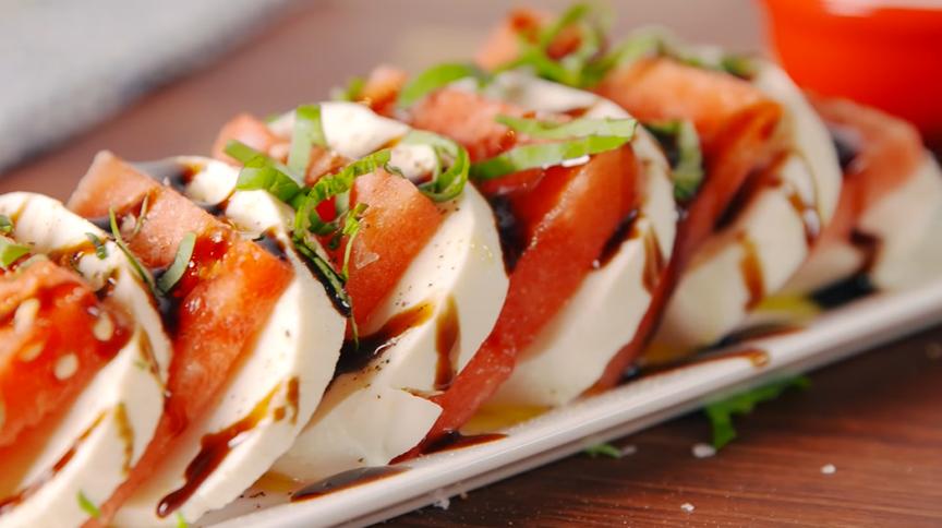 watermelon caprese salad recipe