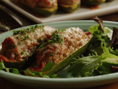 zucchini canoes recipe